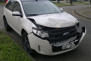 acidente fora