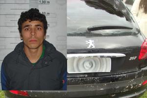 suspeito e carro