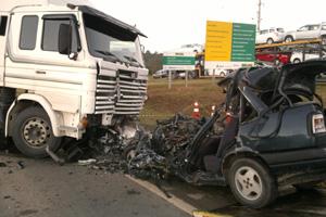 acidente br116