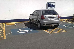 estacionamento deficiente