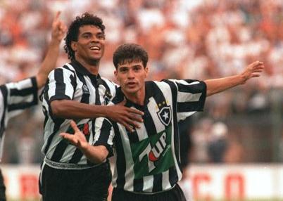 Túlio brilhou com a camisa do Botafogo na década de 1990 (Foto: Divulgação)