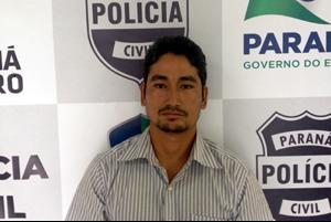 Cleiton, vulgo Japonês, foi preso ontem. (Foto: Divulgação)