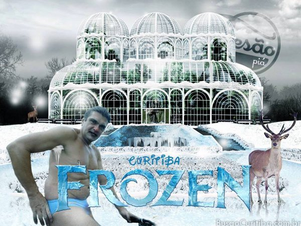 frozen dentro