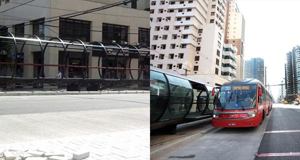 Estação em Março e agora em Maio. (Foto: Reprodução)