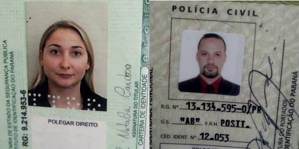 Paola e Napoleão (Foto: Juliano Cunha - Banda B)