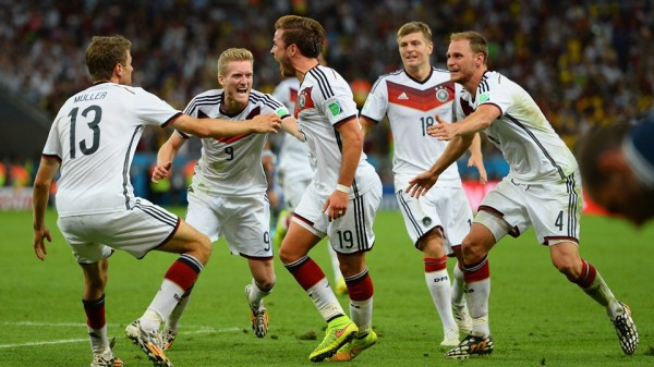 Götze comemora gol do título mundial