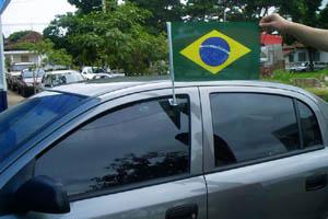 bandeira carro