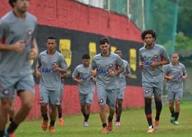 Furacão treina para enfrentar o Bahia (Divulgação/Atlético)