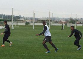 Coritiba treinou visando partida contra o Flamengo. (Osmar Antonio/Banda B)