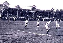 Joaquim Américo foi o primeiro estádio do Paraná com arquibancadas cobertas de madeira (Foto: Arquivo)