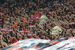 Com apoio de sua torcida, Atlético busca voltar as vitórias contra Palmeiras na Arena da Baixada (Foto: Divulgação/CAP)
