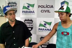 Foto: Jonas e Jackson (Foto: Juliano Cunha - Banda B)