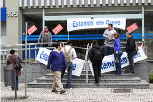 greve bancos