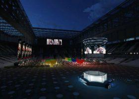 Arena da Baixada receberá evento de MMA. (Reprodução/G3 United)