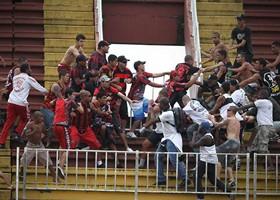 PM do Rio em aletra para possíveis confrontos entre torcedores de Atlético e Vasco. (Divulgação)