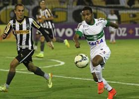 Botafogo venceu no primeiro turno por 1 a 0. (Foto: Divulgação/Coritiba)