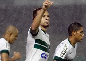 Zé Love fez dois gols no primeiro turno. (Foto: Divulgação/Coritiba)