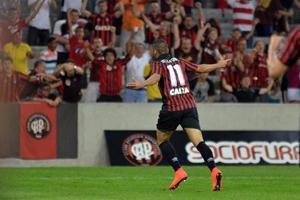 Dellattore fez um gol em seu retorno. (Foto: Divulgação/Atlético)