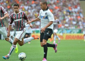 Marcos Guilherme voltou a ser titular. (Foto: Divulgação/Atlético)
