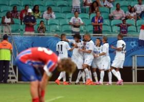Furacão praticamente rebaixou o Bahia. (Divulgação/Atlético)
