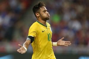 Neymar fez dois gols na vitória sobre os turcos. (Divulgação/CBF)