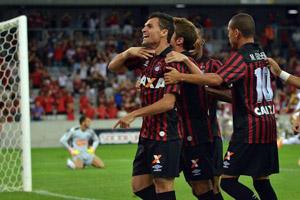 Paulinho Dias fez o gol da vitória. (Divulgação/Atlético)