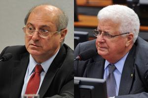 Paulo Bernardo e Nelson Meurer