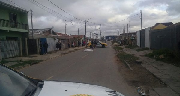 Maicon de Quadros morreu na hora no Uberaba (Foto: Antônio Nascimento - Banda B)