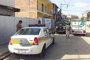 Samu chegou a ser chamado, mas vítima não resistiu (Foto: Danaê Bubalo - Banda B)