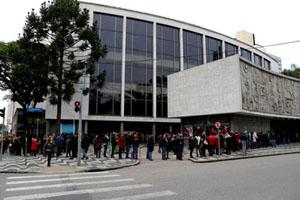 Teatro Guaira.Foto: Divulgação