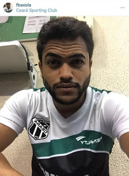 Felipe é o novo reforço do Ceará. (Reprodução/Instagram)