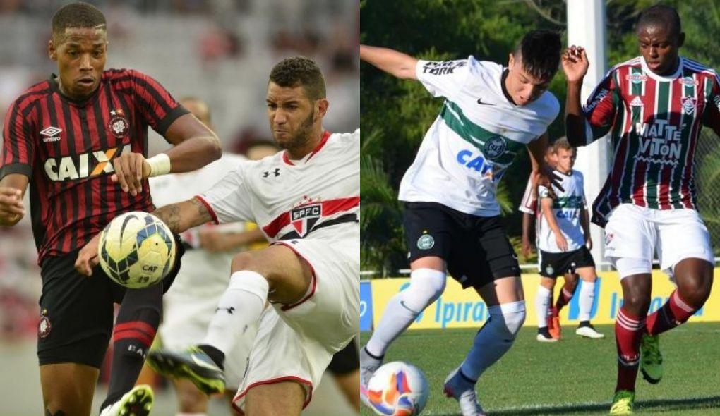 Atlético e Coritiba jogarão o torneio sub-20. (Divulgação/Atlético e Coritiba)