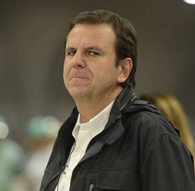 Rio de Janeiro - O prefeito Eduardo Paes visita o novo Túnel Prefeito Marcello Alencar. Obra que faz parte da reestruturação urbana da região portuária do Rio e que terá a primeira galeria inaugurada no dia 19 de junho. (Tânia Rêgo/Agência Brasil)