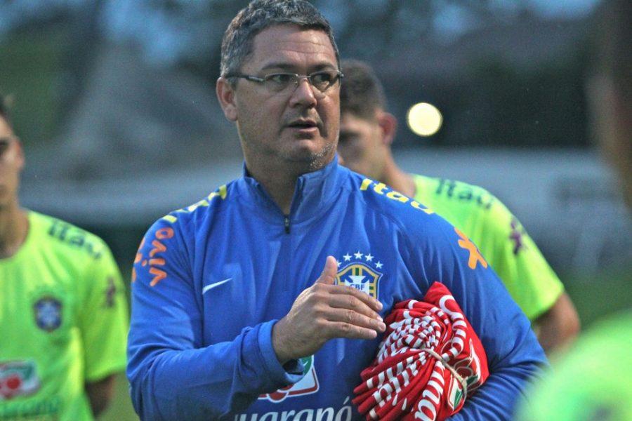 Rogério Micale participou de toda a preparação para a Olimpíada. (Divulgação/CBF)