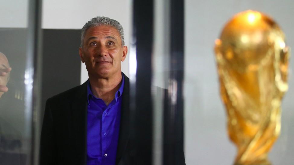 Tite estreia na partida contra o Equador em setembro. (Divulgação/CBF)