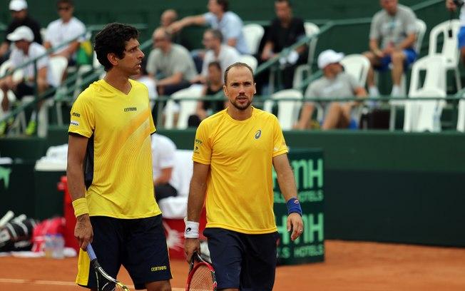 Marcelo Melo e Bruno Soares são os melhores brasileiros no ranking. (Divulgação)
