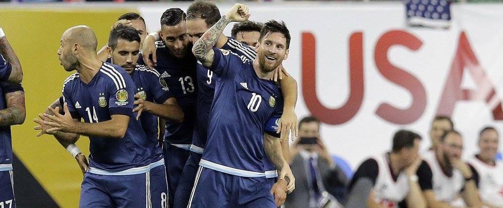 Argentina garante lugar na final. (Facebook/ AFA)