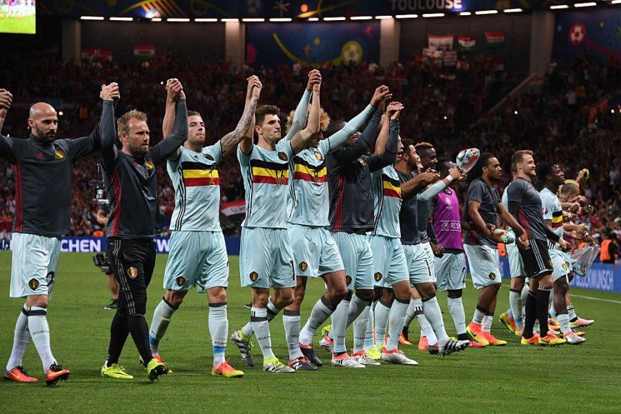 Bélgica aplicou a maior goleada da Euro até o momento. (Reprodução/Twitter UEFA Euro)