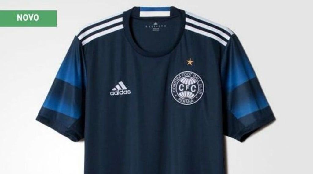 """Fornecedora """"vazou"""" nova camisa do Coxa. (Reprodução)"""