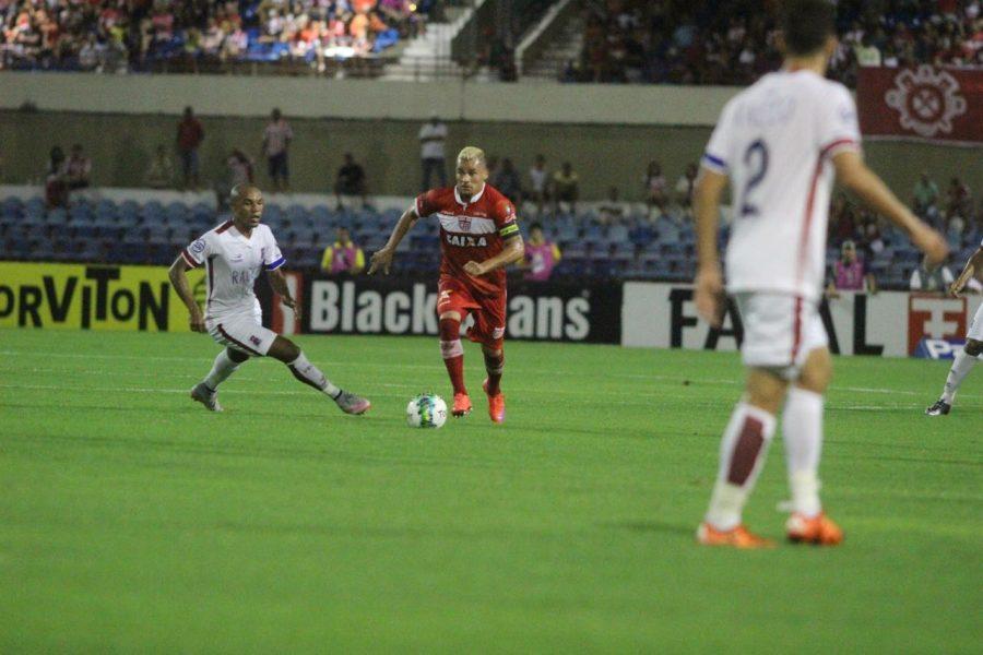 Paraná ficou no empate com CRB. (Douglas Araújo)