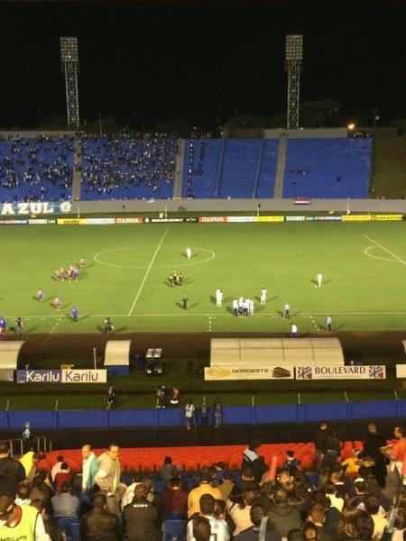 Estádio do Café sofreu com apagões em três oportunidades no ano. (Greyson Assunção/Banda B)