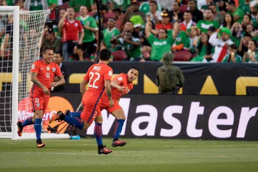 Chile aplicou maior goleada na Copa América. (Reprodução/Twitter Copa América)