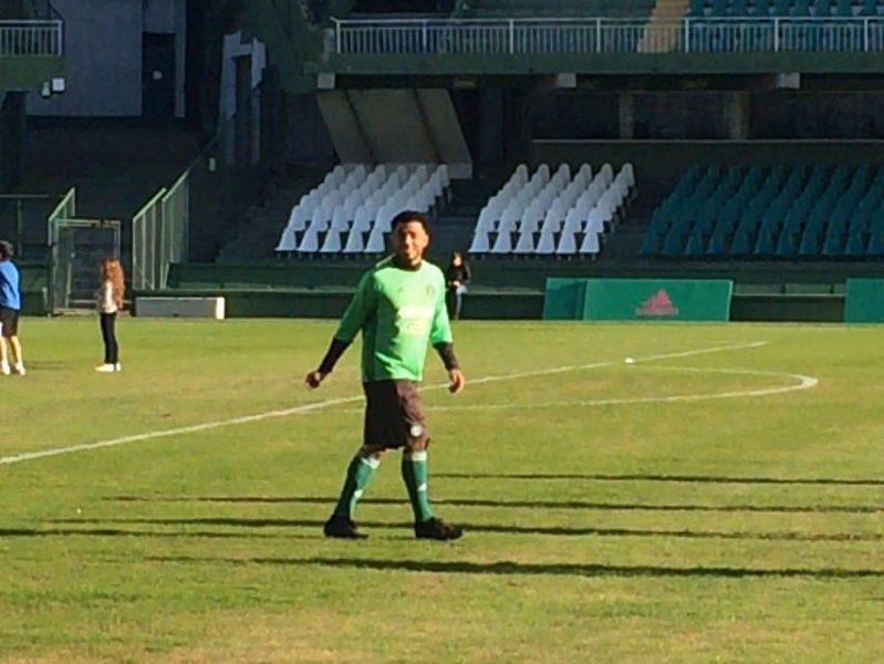 Kazim-Richards vestirá a camisa 10 pelo Coritiba. (Divulgação/Coritiba)