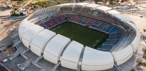 Arena das Dunas será palco de Brasil x Bolívia. (Divulgação)