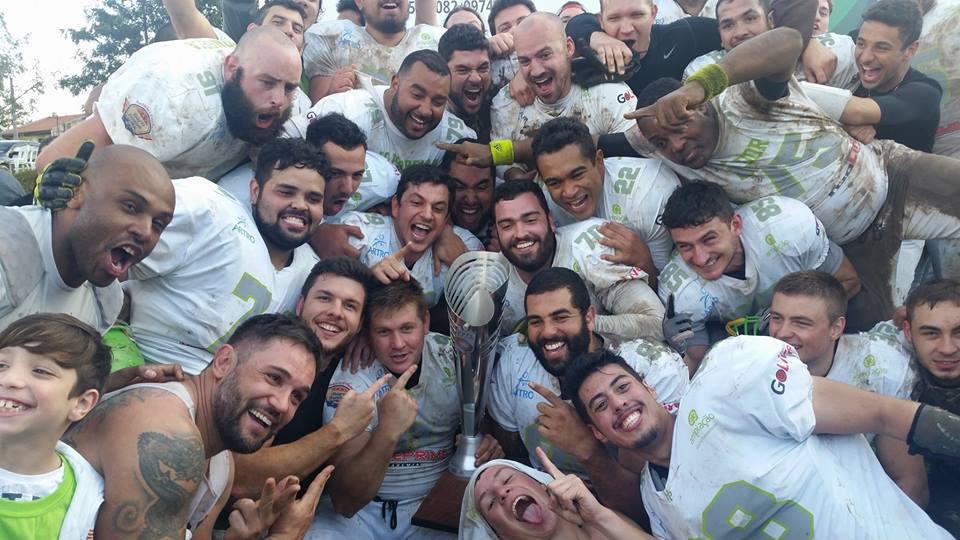 HP é campeão do Paraná Bowl VIII. (Facebook/ Paraná HP)