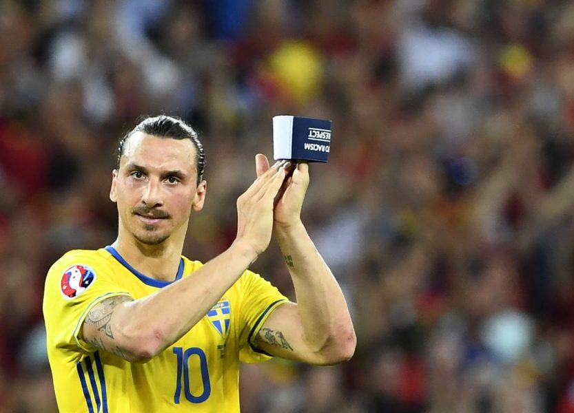 Ibrahimovic deixou a Eurocopa sem marcar nenhum gol. (Reprodução/Twitter UEFA Euro)