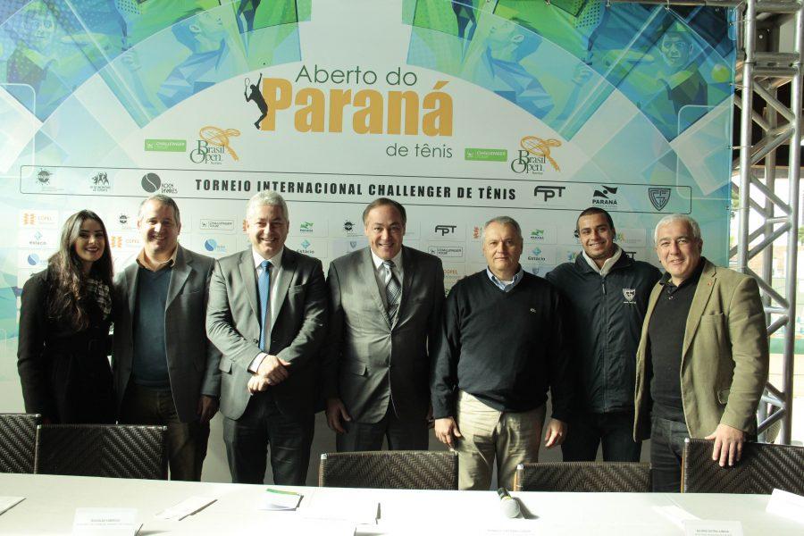 Aberto do Paraná de Tênis acontecerá entre o final de agosto e o início de setembro. (Lucas Lopes/GCC)