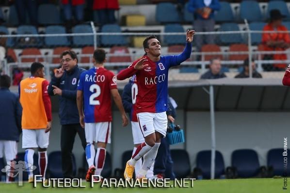 Paraná venceu por 1 a 0. (Geraldo Bubniak/ futebolparanaense.net)