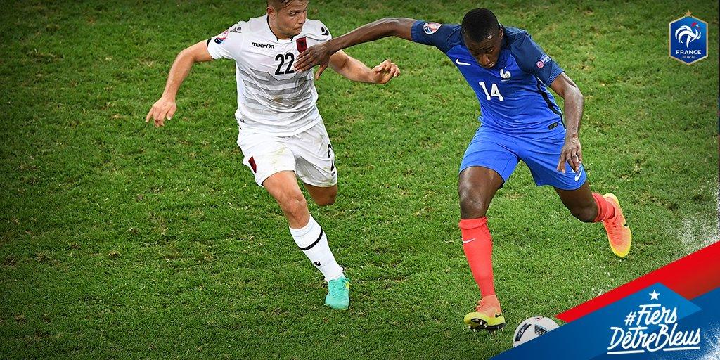 França já está classificada para as oitavas da Euro. (Reprodução/Twitter)