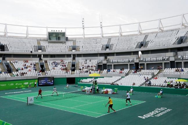Complexo Olímpico de Tênis ainda não tem futuro definido. (Alex Ferro/Rio 2016)